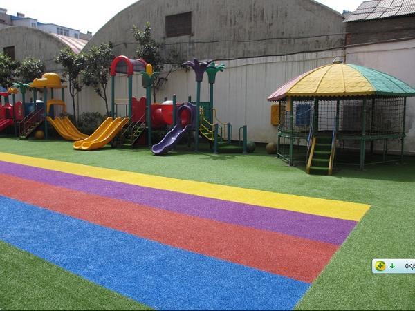 彩虹跑道效果图 青岛塑胶地板 烟台塑胶地板 威海塑胶地板 LG塑胶地
